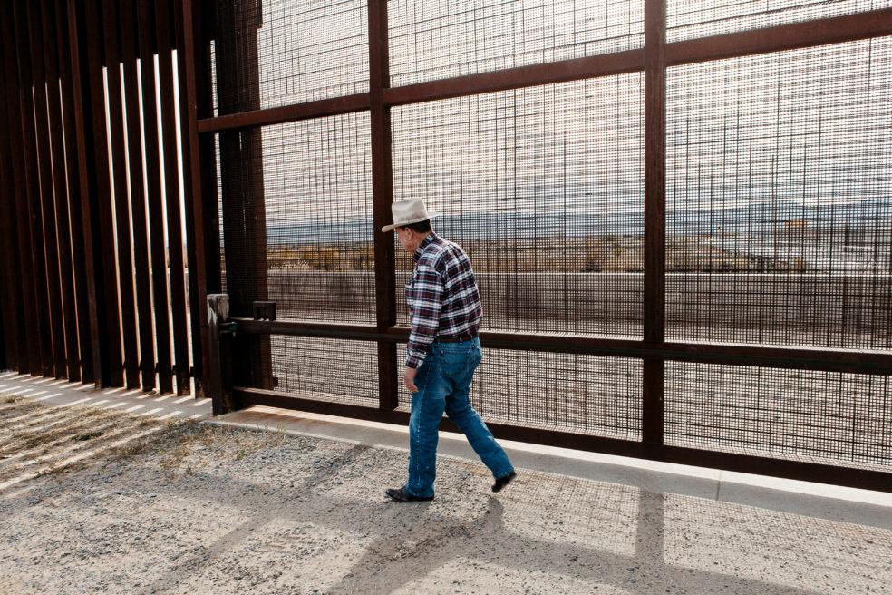 Texas – Mexique un mur pour horizon