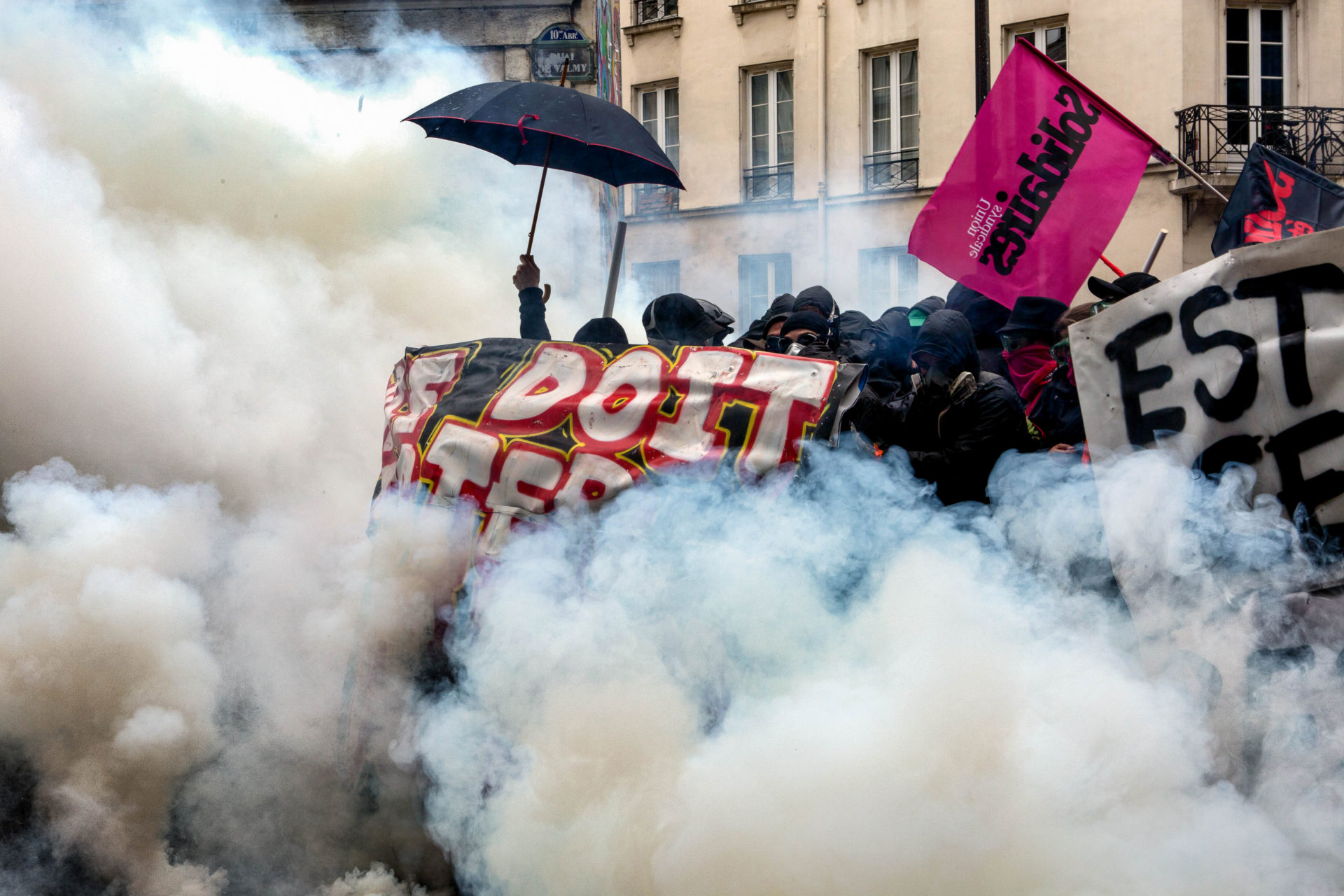 Manifestation antifasciste