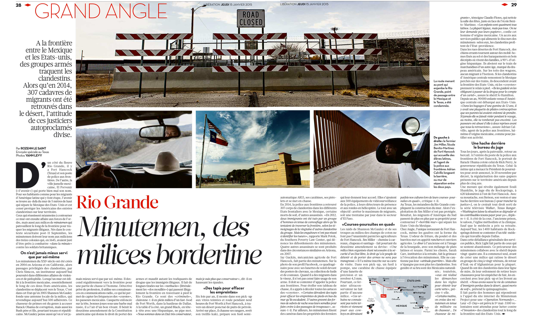 Libération Grand Angle Minute Men