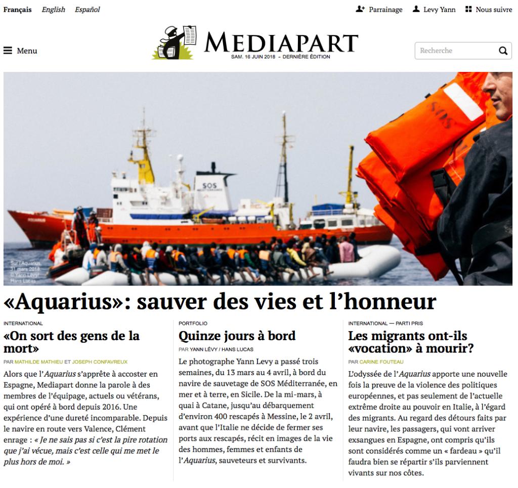 Une Médiapart Aquarius