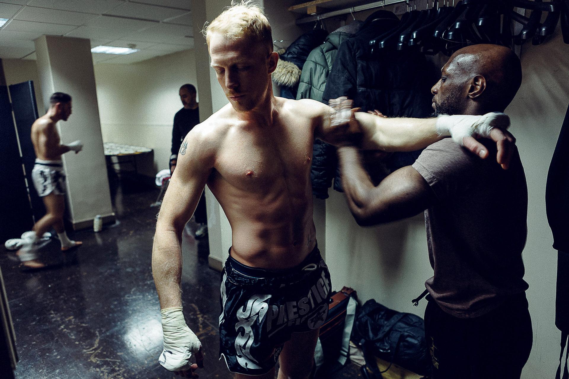 Kevin Renahy boxeur.